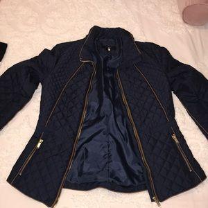 H&M Jackets & Coats - EUC H&M size 6 navy jacket